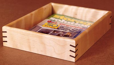 creating splined miter joints